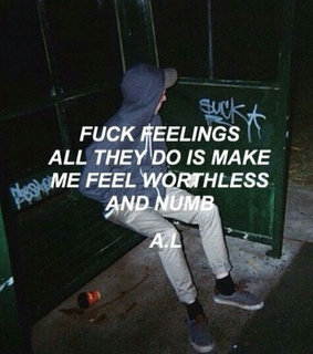 NUMB, depression and feelings