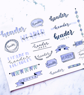 school, lettering and purple