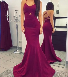 purple prom dress, mermaid prom dresses and wine red prom dresses