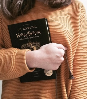 rowling, aesthetic and read