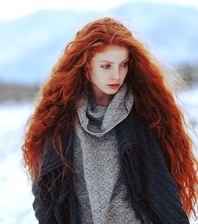red hair, girl and youth
