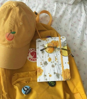 aesthetic, yellow and colorfull