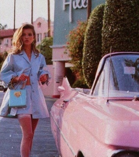vintage, pink and beverly