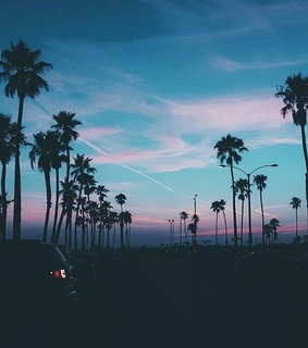 ciel, sunset and aesthetic