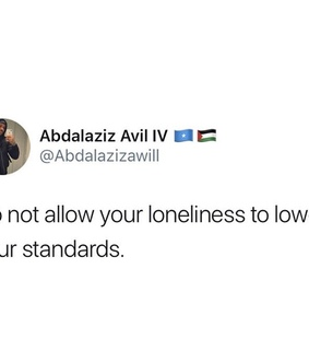 alone, self love and standards