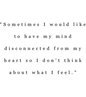feelings, heart and disappointed