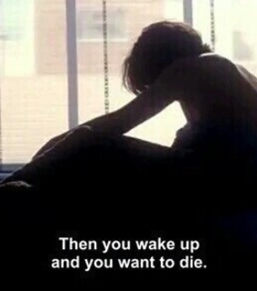 want, alone and wake up