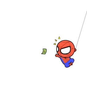 spider-man, Avengers and chibi