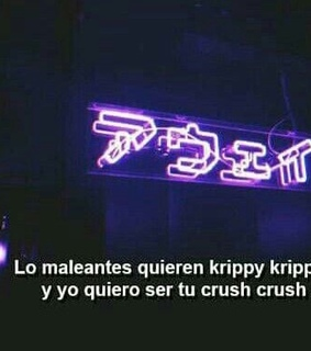 krippy, tu and frases