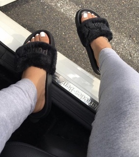 goldversaces, fashion and slides