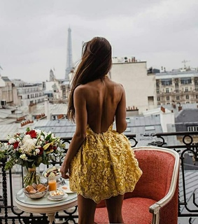hair, dress and body