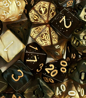 aesthetic, cool and dices