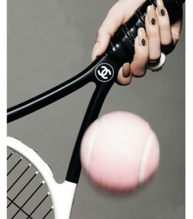 nails, racket and chanel