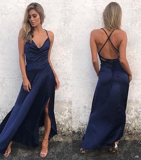 prom dress 2018, navy blue prom dress and prom 2k18