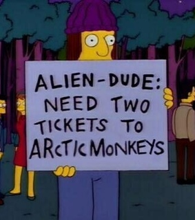 simpsons, arctic monkeys and simpson