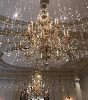 beautiful, beauty and chandelier