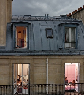 france, paris and roof