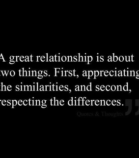 different, quote and respect