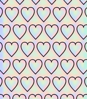 transparent, patterns and heart