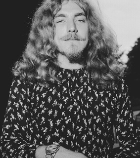 robert plant, black and white and rock