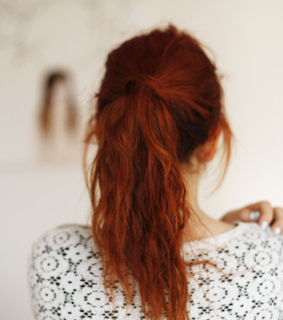 red hair, hairstyles and girl