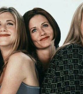 Courteney Cox, Lisa Kudrow and cast