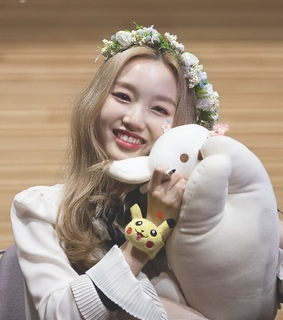 park chaewon, fansign and gowon