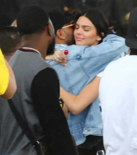 kendall jenner, the weeknd and friendship