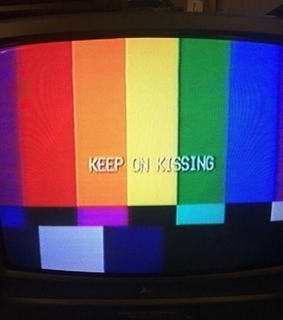 tv, on and kissing