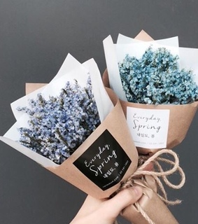 beautiful, blue and bouquets