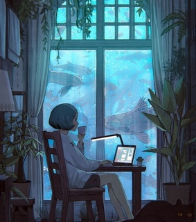 serenity, alone and internet