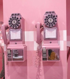 pink, cool and vintage