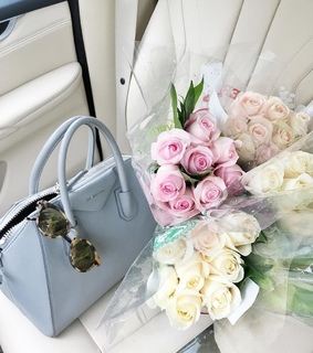 roses, flowers and pink