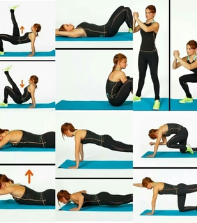exercise, fitness and girl
