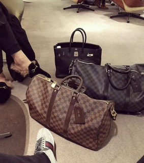 Louis Vuitton, airport and luxury