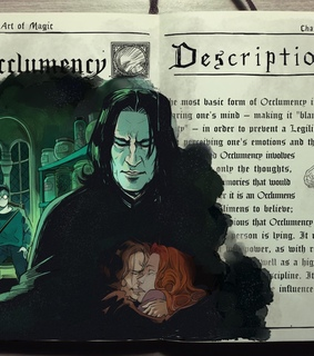 harry potter, severus and journal