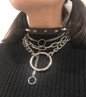bad, aesthetic and chains