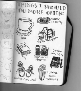 to-do, read and coffee