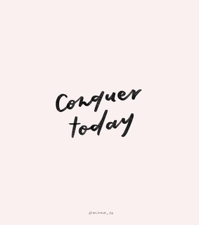 conquer, words and quotes