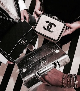 bags, chanel and chic