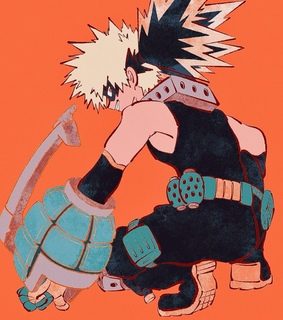 my hero academia, bakugou and boku no hero academia