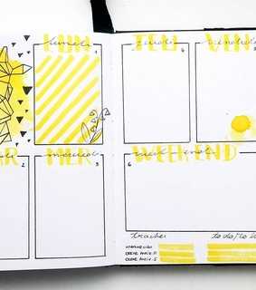 bullet journal, pretty and march