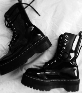 boots, fashion and leather