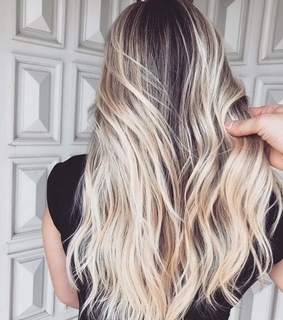 balayage, beach and beauty