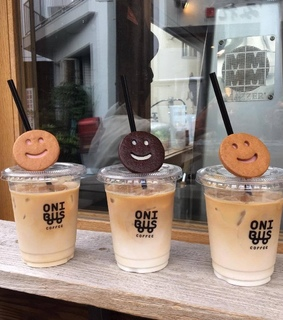 cappucino, smilies and cafe