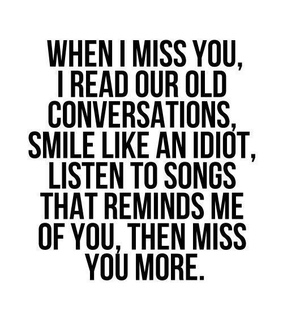 missing, quotes and missing someone