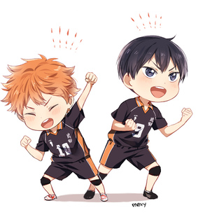 haikyuu, love and shounen
