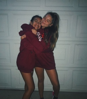 hoodies, bff and smile