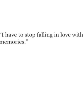 falling, stop and love
