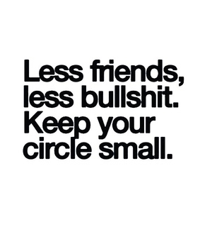 less, keep and friends